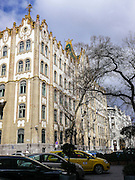 Eastern Europe, Hungary, Budapest, old styled buildings