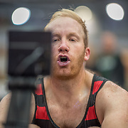 Darryn Van der Sandt MALE HEAVYWEIGHT OPEN 2K Race #6  09:45am<br /> <br /> <br /> www.rowingcelebration.com Competing on Concept 2 ergometers at the 2018 NZ Indoor Rowing Championships. Avanti Drome, Cambridge,  Saturday 24 November 2018 © Copyright photo Steve McArthur / @RowingCelebration