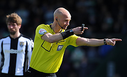 Match Referee Darren Drysdale- Photo mandatory by-line: Harry Trump/JMP - Mobile: 07966 386802 - 11/04/15 - SPORT - FOOTBALL - Sky Bet League One - Yeovil Town v Notts County - Huish Park, Yeovil, England.