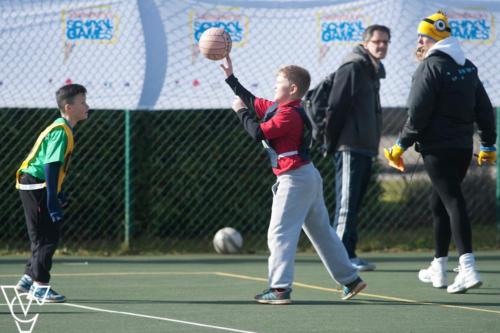 Sainsbury School Games - Lincolnshire Winter Festival.<br /> <br /> Date: March 4, 2015