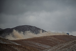 January 10, 2019 - Arequipa, Peru - AREQUIPA, PU - 10.01.2019: DAKAR 20189 - Karginov Andrey (RUS) during the 2019 Dakar Rally, on Wednesday (10), in Arequipa, Peru. (Credit Image: © Duda Bairros/Fotoarena via ZUMA Press)