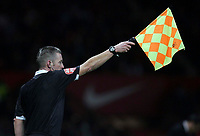Photo: Paul Thomas/Sportsbeat Images.<br /> Manchester United v Fulham. The FA Barclays Premiership. 03/12/2007.<br /> <br /> A linesman flags the Utd forwards offside.