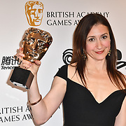 Winner: Fortnite by Shera D'Spain at the British Academy (BAFTA) Games Awards at Queen Elizabeth Hall, Southbank Centre  on 4 March 2019, London, UK.