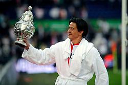 27-04-2008 VOETBAL: KNVB BEKERFINALE FEYENOORD - RODA JC: ROTTERDAM <br /> Feyenoord wint de KNVB beker - Michael Mols<br /> ©2008-WWW.FOTOHOOGENDOORN.NL