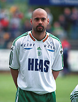 Chris Twiddy, Hamkam. Strømsgodset - Hamkam 5-2, 25. juni 2000. 1. divisjon 2000. (Foto: Peter Tubaas/Fortuna Media)