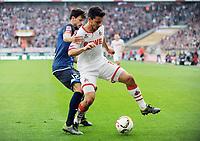 v.l. Tobias Strobl, Philipp Hosiner (Koeln)<br /> Fussball Bundesliga, 1. FC Koeln - TSG 1899 Hoffenheim<br /> Köln<br /> <br /> Norway only