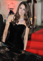 Duchess of Cambridge  arrives for the Sun Military awards at the Imperial War Museum, London, Monday December 19, 2011. Photo By Andrew Parsons/ i-Images