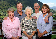 From left, Barb and Richard Pack, Dorris Budge, Rick Budge and Donna Clark.