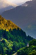 Small rhodopean village hidden deep in the mountain