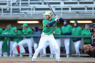 CARY, NC - MARCH 03: Notre Dame's Daniel Jung. The University of Maryland Terrapins played the University of Notre Dame Fighting Irish on March 3, 2017, at USA Baseball NTC Stadium Field in Cary, NC in a Division I College Baseball game, and part of the Irish Classic tournament. Maryland won the game 4-3.