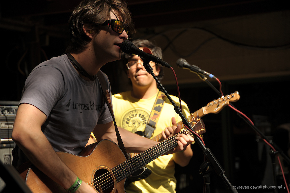 Annuals perform Cedar Street Courtyard  @ the SXSW Music Festival, Austin, Texas