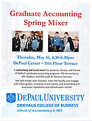Graduate Accounting Spring Mixer 2019