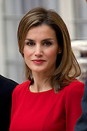 120213 Spanish Royals attend National Sports Awards