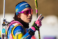 Elisabeth Hoegberg (SWE) during the Women 15 km Individual Competition at day 2 of IBU Biathlon World Cup 2019/20 Pokljuka, on January 23, 2020 in Rudno polje, Pokljuka, Pokljuka, Slovenia. Photo by Peter Podobnik / Sportida