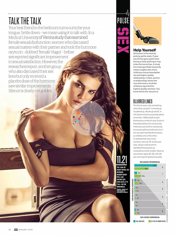 Learn a little bit about bedroom talk in MEN'S HEALTH Australia :: January 2016.<br /> <br /> Image from our shoot 'Nohemi Hermosillo' which is available for worldwide use with approval:  http://www.apixsyndication.com/gallery/Nohemi-Hermosillo/G0000.SDhGUz4lsI/C0000MYxxGRbXQCo