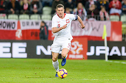 November 15, 2018 - Gdansk, Poland, ROBERT LEWANDOWSKI from Poland during football friendly match between Poland - Czech Republic at the Stadion Energa in Gdansk, Poland