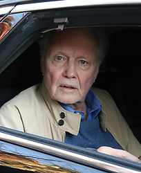 April 18, 2018 - New York, New York, United States - Oscar winning actor Jon Voight signed autographs for fans outside a Soho restaurant on April 18 2018 in New York City...Voight is the father of actress Angelina Jolie  (Credit Image: © John Sheene/Ace Pictures via ZUMA Press)