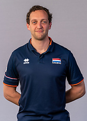 Willem de Wit of Netherlands, Photoshoot selection of Orange men's volleybal team season 2021on may 11, 2021 in Arnhem, Netherlands (Photo by RHF Agency/Ronald Hoogendoorn)