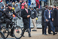 Washington D.C. January 20, 2017 Ben Carson taking part in the  parade after the inauguration  of Donald Trump as the 45th President of the United States.