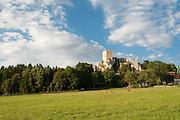 Ruine Weißenstein, Pfahl, Bayerischer Wald, Bayern, Deutschland | ruin Weißenstein, Pfahl, Bavarian Forest, Bavaria, Germany
