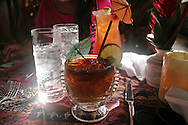 A Mai Tai from Mama's Fish House, one of Maui's best restaurants.