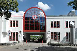 08.05.2013, Saebener Strasse, Muenchen, GER, 1. FBL, FC Bayern Muenchen, Training, im Bild Eingang zum Trainingsgelaende an der Saebener Strasse // during a Trainingssession of the German Bundesliga Club FC Bayern Munich at the Saebener Strasse, Munich, Germany on 2013/05/08. EXPA Pictures © 2013, PhotoCredit: EXPA/ Eibner/ Wolfgang Stuetzle..***** ATTENTION - OUT OF GER *****