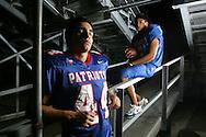 Photo by Alex Jones..Mission Veterans Memorial Patriots: #44 Jobim Zapico, #6 Eddie Tovar