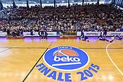 DESCRIZIONE : Campionato 2014/15 Serie A Beko Grissin Bon Reggio Emilia -  Dinamo Banco di Sardegna Sassar Finale Playoff Gara1<br /> GIOCATORE : PalaBigi<br /> CATEGORIA : Palazzo Palazzetto Arena Panoramica<br /> SQUADRA : Grissin Bon Reggio Emilia<br /> EVENTO : LegaBasket Serie A Beko 2014/2015<br /> GARA : Grissin Bon Reggio Emilia - Dinamo Banco di Sardegna Sassari Finale Playoff Gara1<br /> DATA : 14/06/2015<br /> SPORT : Pallacanestro <br /> AUTORE : Agenzia Ciamillo-Castoria/GiulioCiamillo