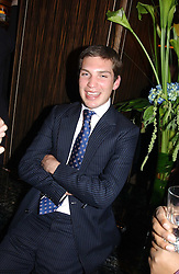 WILLIAM AITKEN at a party to celebrate the re-launch of the Polo bar at The Westbury Hotel, Bond Street, London W1 on 26th April 2005.<br /><br />NON EXCLUSIVE - WORLD RIGHTS