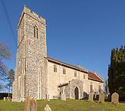 Church of St George South Elmham St Cross, Suffolk, England, UK