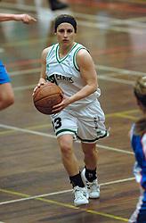 20-04-2005 BASKETBAL: LEVI - PERIK JUMPERS: AMSTERDAM<br /> Levi Amsterdam, wint de eerste playoff wedstrijd met 85-65 / Nathalie Hudec<br /> ©2005-WWW.FOTOHOOGENDOORN.NL
