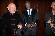 STEVEN BERKOFF; OSWALD BOATENG, Liberatum Cultural Honour for Francis Ford Coppola<br /> with Bulgari Hotel & Residences, London. 17 November 2014