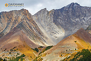 Mount Arethusa at Highwood Pass in Kananaskis Country, Alberta, Canada