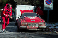 photographs of the 13th Monte Carlo Rally 13th Rallye Historique Monte Carlo