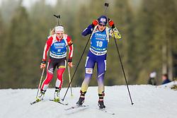 Anastasiya Merkushyna (UKR) during Women 15km Individual at day 5 of IBU Biathlon World Cup 2018/19 Pokljuka, on December 6, 2018 in Rudno polje, Pokljuka, Pokljuka, Slovenia. Photo by Ziga Zupan / Sportida