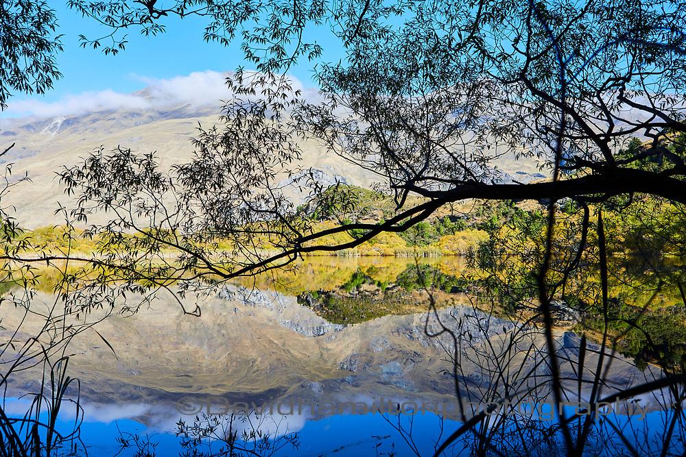 Diamond Lake  Reflection