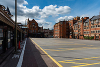 Gloucester Green bus station oxford during the lockdown 2020 photo by Mark Anton Smith