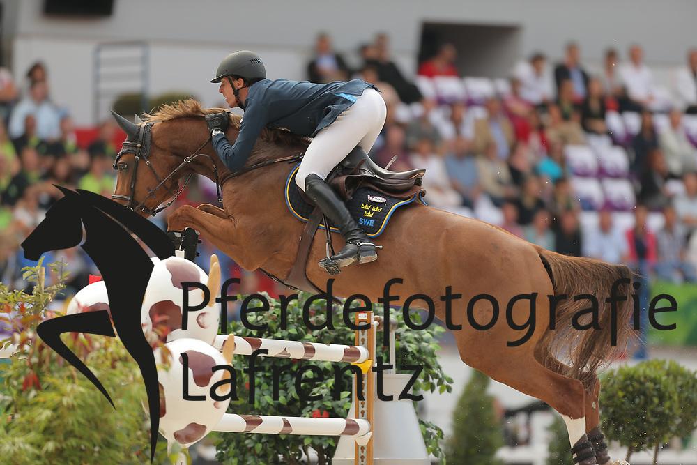 Eckermann, Henrik von, Gotha FRH<br /> Normandie - WEG 2014<br /> Springen - Finale III<br /> © www.sportfotos-lafrentz.de/ Stefan Lafrentz