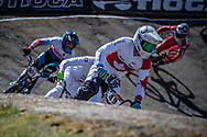 #49 (NYHAUG Tory) CAN at Round 4 of the 2018 UCI BMX Superscross World Cup in Papendal, The Netherlands
