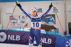 Ana Bucik from Slovenia during the giant slalom for European Cup on 27.2.2020 on Krvavec, Cerklje na Gorenjskem, Slovenia. Photo by Urban Meglič / Sportida
