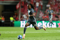 September 19, 2018 - Lisbon, Portugal - Bayern Munich's midfielder Renato Sanches from Portugal in action during the UEFA Champions League Group E football match SL Benfica vs Bayern Munich at the Luz stadium in Lisbon, Portugal on September 19, 2018. (Credit Image: © Pedro Fiuza/NurPhoto/ZUMA Press)