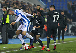 January 16, 2019 - Leganes, Madrid, Spain - Odriozola of Real Madrid in action during the King Spanish championship, , football match between Leganes and Real Madrid on January 16th at Butarque Stadium in Leganes, Madrid, Spain. (Credit Image: © AFP7 via ZUMA Wire)