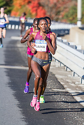 Boston Athletic Association Half Marathon, Betsy Saina leads Daska, Limo