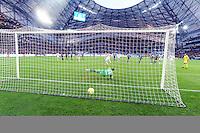Goal Andre Pierre GIGNAC - 31.01.2015 - Marseille / Evian Thonon - 23eme journee de Ligue 1 -<br /> Photo : Gaston Petrelli / Icon Sport