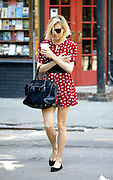 May 4, 2015 - New York City, NY, USA - <br /> <br /> Sienna Miller in New York<br /> <br /> Actress Sienna Miller walks in the West Village on May 4 2015 in New York City  <br /> ©Exclusivepix Media