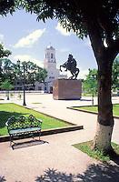 Plaza Bolivar, Puerto Ayacucho, Amazonas, Venezuela.