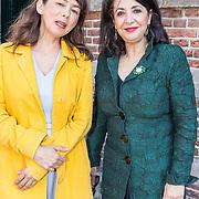 NLD/Naarden/20190419 - Matthaus-Passion in de grote kerk van Naarden, Khadija Arib en Mei Li Vos