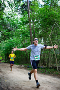 Muddy Trails Bash on April 6, 2013, from 3 to 8 p.m. The courses will wind through the beautiful George Mitchell Nature Preserve, located on 1,800 acres adjacent to Rob Fleming Park in the Village of Creekside Park.