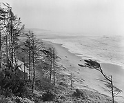 Y-490928-02.  Pacific coast at DeLake, Oregon. September 28, 1949.