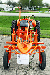 04 May 2013:   Arranged to coincide and be a part of the Red Corridor Route 66 festival, the village of Lexington hosts an antique tractor show.  Roger Whaley is the chairman of the organizing committee.  1948 Allis  Chalmers model G.